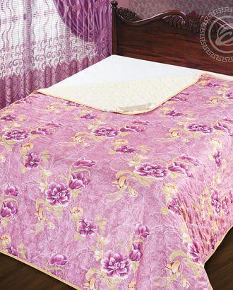 Одеяло-покрывало стеганное 100*140 азалия арт. АРТД-2438-1-АРТД0231577