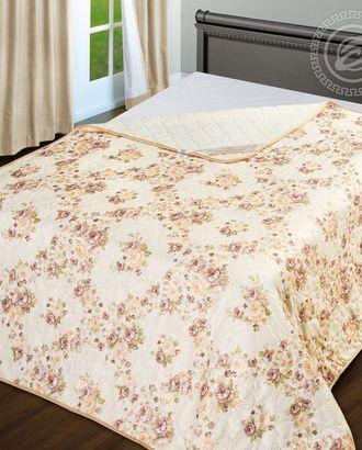 Одеяло-покрывало стеганное 100*140 ваниль арт. АРТД-2439-1-АРТД0231579