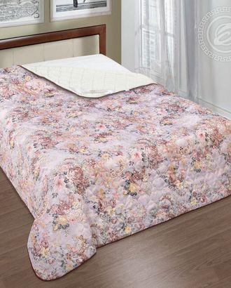 Одеяло-покрывало стеганное 100*140 кармель арт. АРТД-2441-1-АРТД0231583
