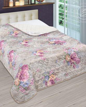Одеяло-покрывало стеганное 140*200 сиена арт. АРТД-2452-1-АРТД0231623