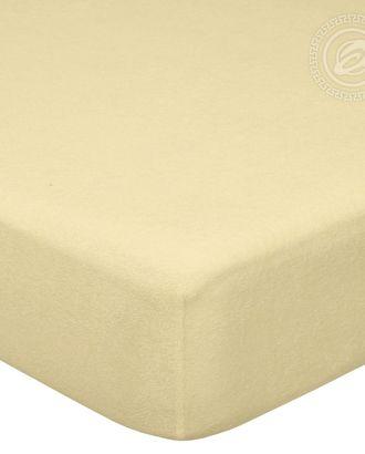 Простыня махровая на резинке 60*120 акация арт. АРТД-45-1-АРТД0232214