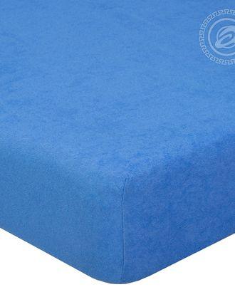 Простыня махровая на резинке 60*120 ирис арт. АРТД-48-1-АРТД0232220