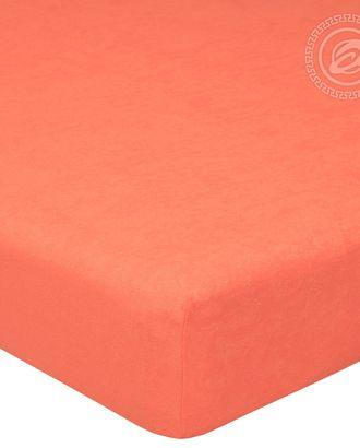 Простыня махровая на резинке 60*120 персик арт. АРТД-51-1-АРТД0232226