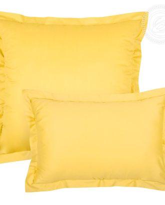 Наволочка на молнии с ушками 50*70 (2 шт.) жёлтый арт. АРТД-80-1-АРТД0232482