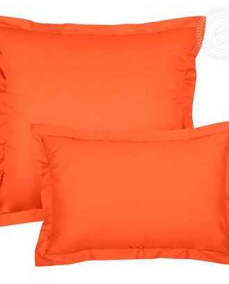 Наволочка на молнии с ушками 50*70 (2 шт.) оранжевый арт. АРТД-81-1-АРТД0232484