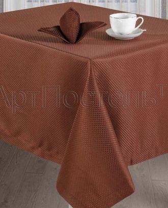 Набор столового белья 'кристиан шоколад' арт. АРТД-433-1-АРТД0235755