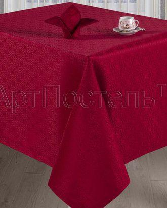 Набор столового белья 'шарлотта бордо' арт. АРТД-446-1-АРТД0235883