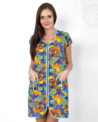 Пикассо халат женский на молнии мод. 01.15.03 раз 46 арт. АРТД-494-1-АРТД0236328
