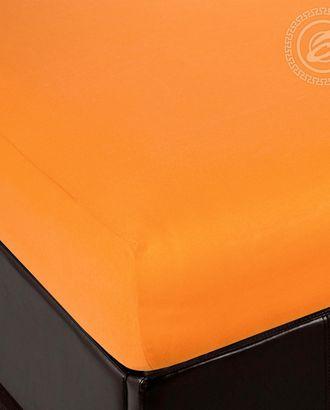 Простыня трик. на резинке 60*120 апельсин арт. АРТД-2487-1-АРТД0231915