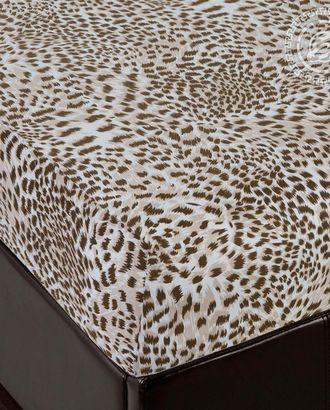 Простыня трик. на резинке леопард арт. АРТД-2519-1-АРТД0231972