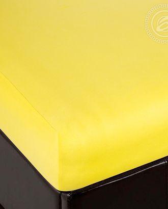 Простыня трик. на резинке лимон арт. АРТД-2503-1-АРТД0231974