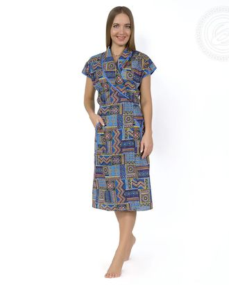 Саламандра  халат женский с запахом мод. 02.15.03 раз 46 арт. АРТД-1212-2-АРТД0245215