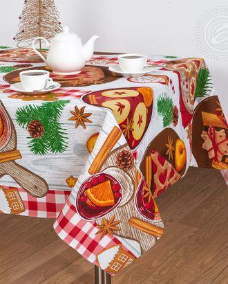Скатерть столовая 'пряничный домик' арт. АРТД-1226-1-АРТД0245383