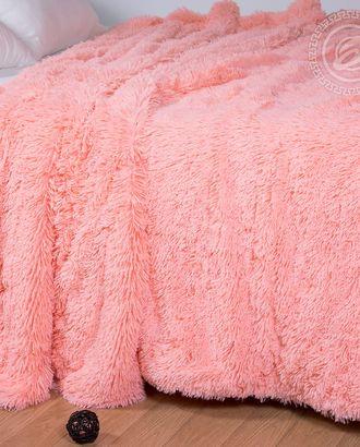 Покрывало меховое 'шиншилла' розовый, 160*220 см арт. АРТД-833-1-АРТД0241646