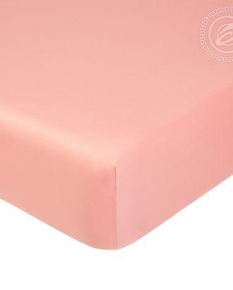 Простыня на резинке 140*200см розовый арт. АРТД-1257-1-АРТД0245718