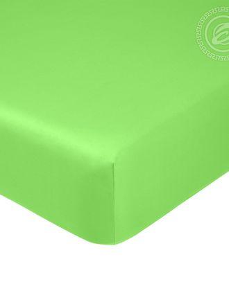 Простыня на резинке 140*200см салатовый арт. АРТД-1258-1-АРТД0245719