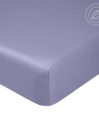 Простыня на резинке 180*200см фиолетовый арт. АРТД-1260-1-АРТД0245762