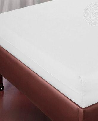 Простыня на резинке 90*200 подснежник арт. АРТД-1243-1-АРТД0245484