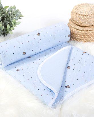 Одеяло-покрывало трикотажное 100*140 сёма арт. АРТД-2680-1-АРТД0249476