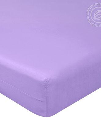 Простыня на резинке 90*200 византия фиолетовая арт. АРТД-1666-1-АРТД0249514