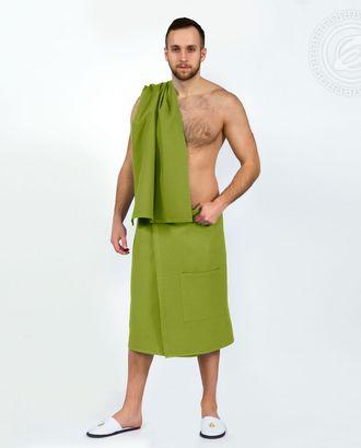 Набор для бани и сауны мужской фисташка арт. АРТД-1845-1-АРТД0251544
