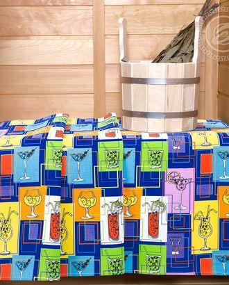 Полотенце вафельное банное  80 * 150 лимонад арт. АРТД-1853-1-АРТД0251570