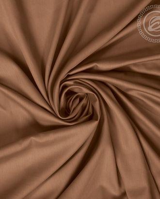 Коричневый сатин гладкокрашенный 220 см арт. АРТД-1886-1-АРТД0252042
