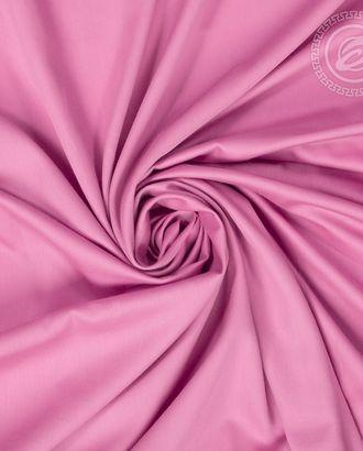 Розовый сатин гладкокрашенный 220 см арт. АРТД-2800-1-АРТД0250293