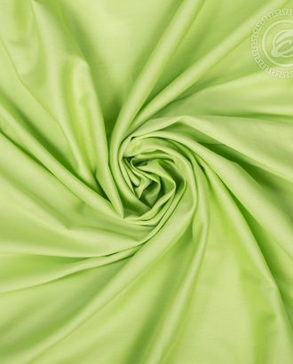 Салатовый сатин гладкокрашенный 220 см арт. АРТД-1758-1-АРТД0250051