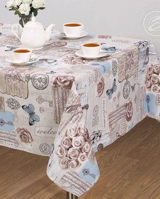 Скатерть столовая 'либретто' арт. АРТД-2207-1-АРТД0254609