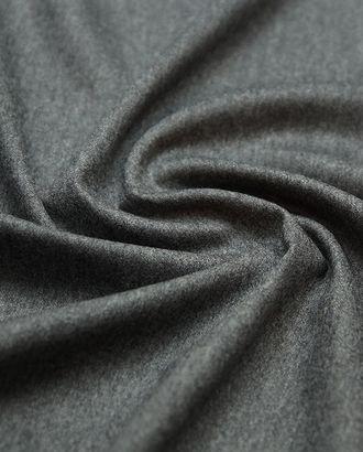 Костюмная 2х сторонняя шерстяная ткань цвет серый меланж арт. ГТ-4788-1-ГТ-17-6377-1-29-1
