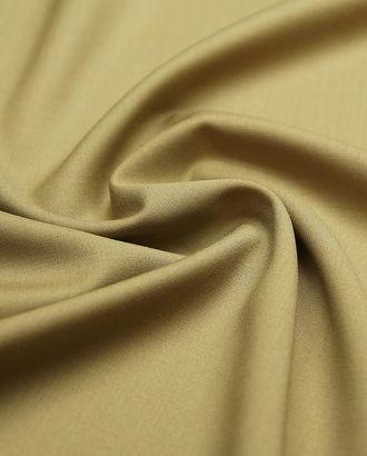 Костюмная 2х сторонняя ткань оливкового цвета арт. ГТ-4784-1-ГТ-17-6378-1-23-1