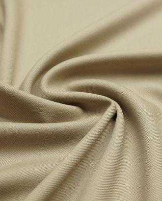 2-х сторонняя костюмная ткань в диагональную полоску , песочного цвета арт. ГТ-4792-1-ГТ-17-6385-1-1-1