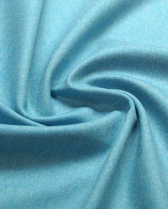 2-х сторонняя костюмная ткань , голубой меланж арт. ГТ-4797-1-ГТ-17-6391-6-7-1