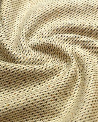 2-х сторонняя костюмная ткань в твидовом стиле, коричнево-бежевый цвет арт. ГТ-4799-1-ГТ-17-6393-6-21-1