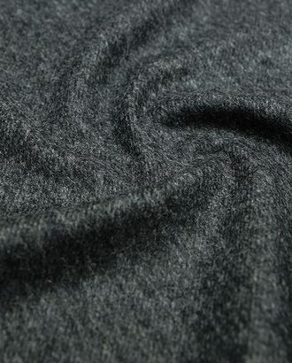 Ткань пальтовая, чёрно-белый рубчик по диагонали арт. ГТ-11-1-ГТ0020127