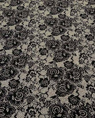 Ткань трикотаж, цветочный узор жаккарда 4*5см арт. ГТ-49-1-ГТ0020283
