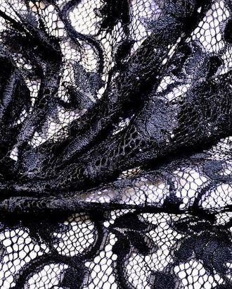 Винтажное вискозное кружево, цвет: черный принц арт. ГТ-59-1-ГТ0020356