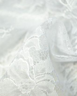 Белое гипюровое кружево с нежным отливом арт. ГТ-63-1-ГТ0020362