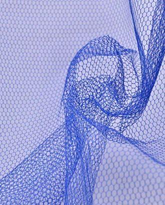 Ткань фатин мягкий, цвет синий электрик арт. ГТ-72-1-ГТ0020434