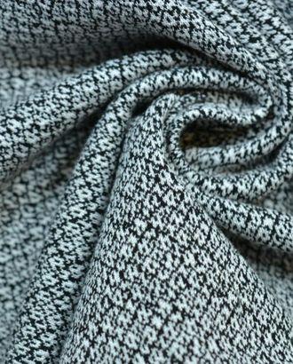 Ткань трикотаж,  черно-белый меланж арт. ГТ-111-1-ГТ0020690