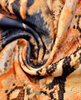 Ткань плательная, цвет: леопардовый принт арт. ГТ-120-1-ГТ0020726