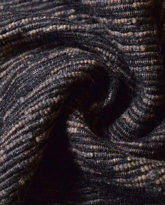 Костюмная ткань серо-коричневая в полоску арт. ГТ-168-1-ГТ0021054