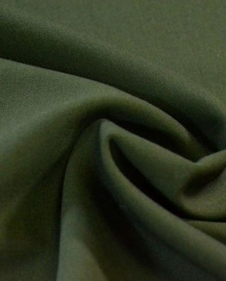 Ткань костюмная двухсторонняя, цвет: темно-зеленый цв.1470 арт. ГТ-180-1-ГТ0021124