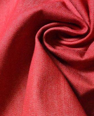 Ткань джинсовая, цвет: малиновый арт. ГТ-238-1-ГТ0021518