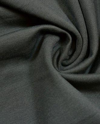 Ткань джерси, цвет: темно-коричневый арт. ГТ-293-1-ГТ0021652