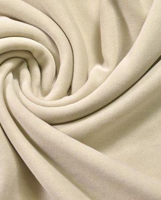 Ткань подкладочная, тонкая трикотажная, цвет молочный арт. ГТ-302-1-ГТ0021664