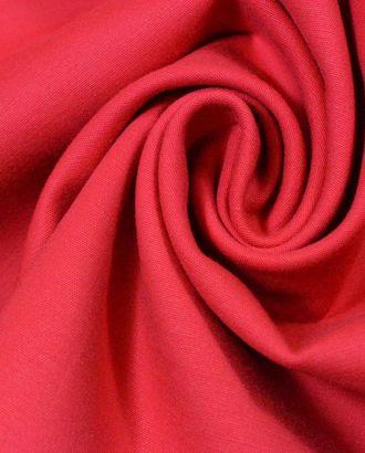 Ткань хлопковая костюмная, свежая коралловая роза арт. ГТ-320-1-ГТ0021731