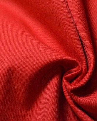 Ткань хлопок цвет ализариновый красный арт. ГТ-322-1-ГТ0021738