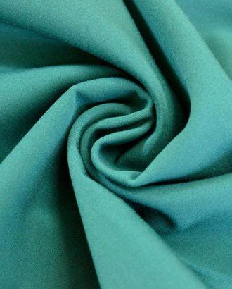 Костюмная вискозная ткань, цвет: малахитовый арт. ГТ-363-1-ГТ0021807